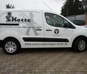 Logoentwurf / Fahrzeugbeschriftung Kotte