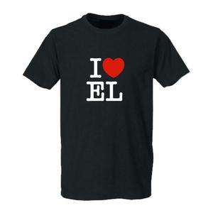I love EL T-Shirt rundhals
